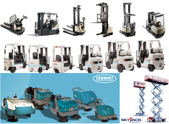 buffalo materials handling lift truck scissor lift and floor scrubber rentals and leasing